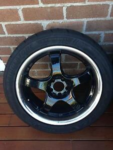 Alloy and tyres off Nissan 200SX Coupe Maroubra Eastern Suburbs Preview