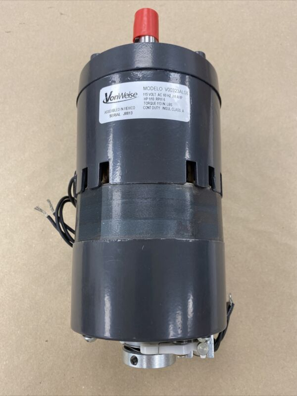 Replaces Dayton 1L489 and 1LPN4, 6 RPM,  113 in-lbs, 1/10 HP, 115V gearmotor