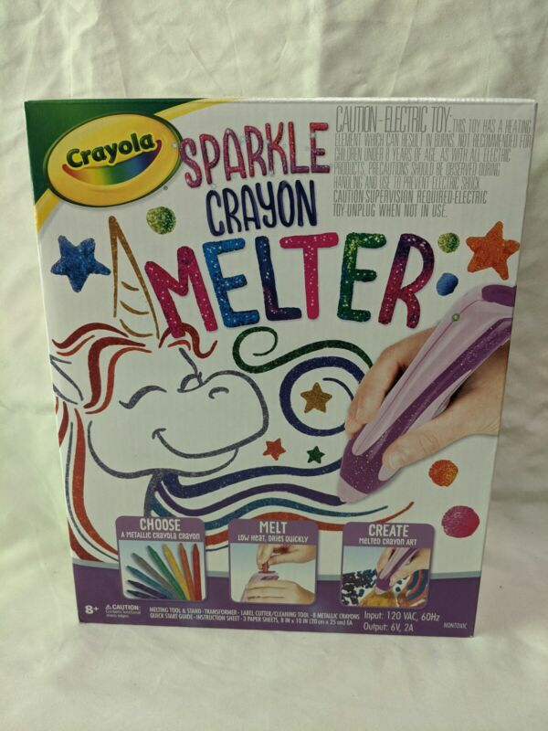 Crayola Sparkle Crayon Melter with Sparkle Unit ~New In Box~