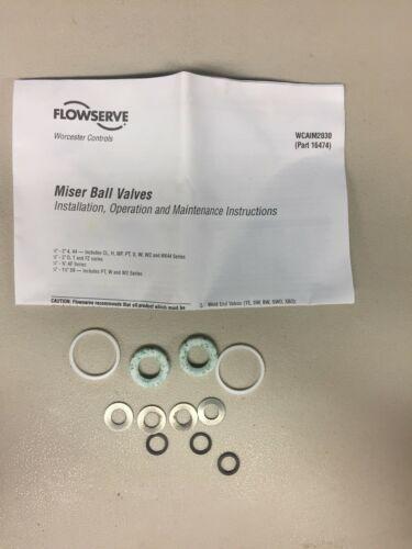 Flowserve Worcester Controls 07 RK44 RT Repair Ball Kit Valves Part 16474