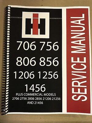 856 International Harvester Tractor Technical Service Shop Repair Manual