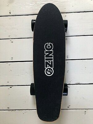 Zinc electric skateboard (with all original packaging)