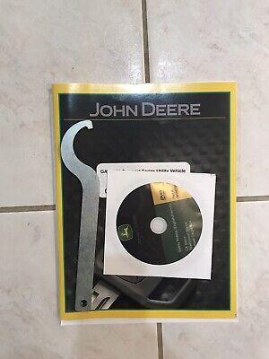 John Deere Xuv Gator Cx Utility Vehicle Operators Manual Dvd Wrench Tool
