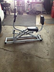 E Force cross trainer