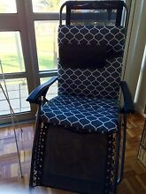 Grey Lounge chair Waratah West Newcastle Area Preview