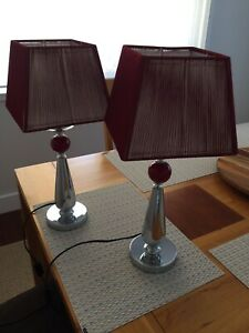 Bedside or table lamps