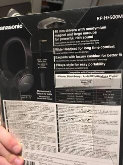RP-HF500M New Panasonic Headphones