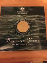 Australia: 2004 $5 Bicentenary of Tasmania uncirculated Nowra Nowra-Bomaderry Preview
