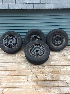 225/65R16 BRAND NEW TIRES AND RIMS