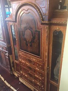 Antique french empire etagere display cabinet negotiable