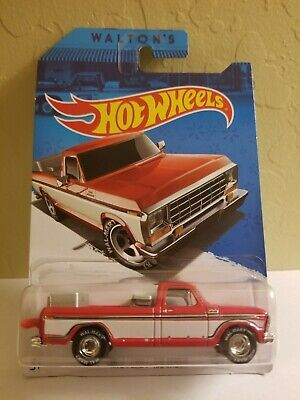 Hot Wheels 1979 Ford F-150 Truck Walmart Sam Walton Exclusive Real Riders