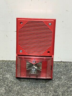 Space Age Electronics Va4-bl-rb24d-tvmaa Fire Alarm Hornstrobe Signaling Device