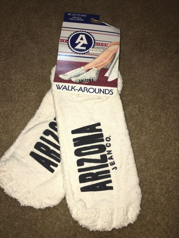 Arizona Jean Co. walk arounds socks footies vintage