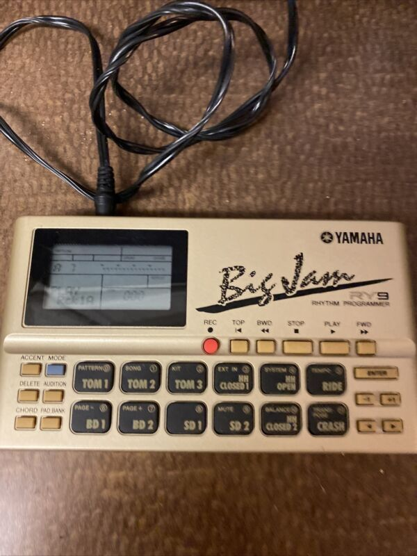 Yamaha RY9 BIG JAM rhythm Composer DRUM MACHINE Excellent From Japan Tested