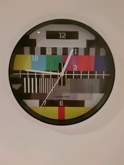 Rare Starion closed face wall clock