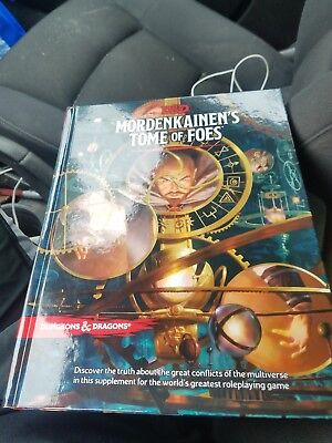 Mordenkainens Tome Of Foes Hc New D D