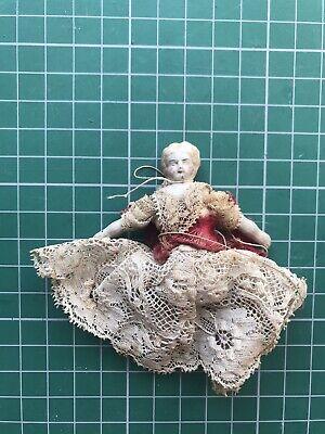 Vintage victorian minature doll rare