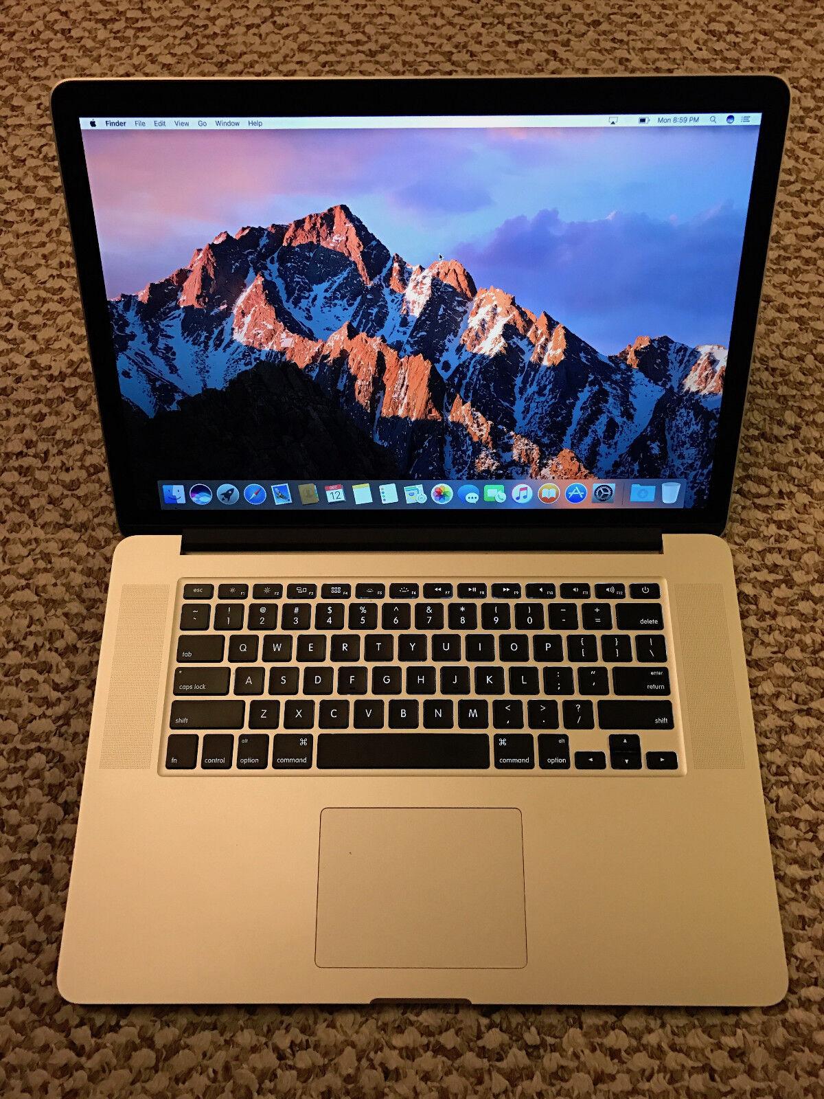 Apple RETINA Macbook Pro 15in 2015 AMD, new body, Applecare!