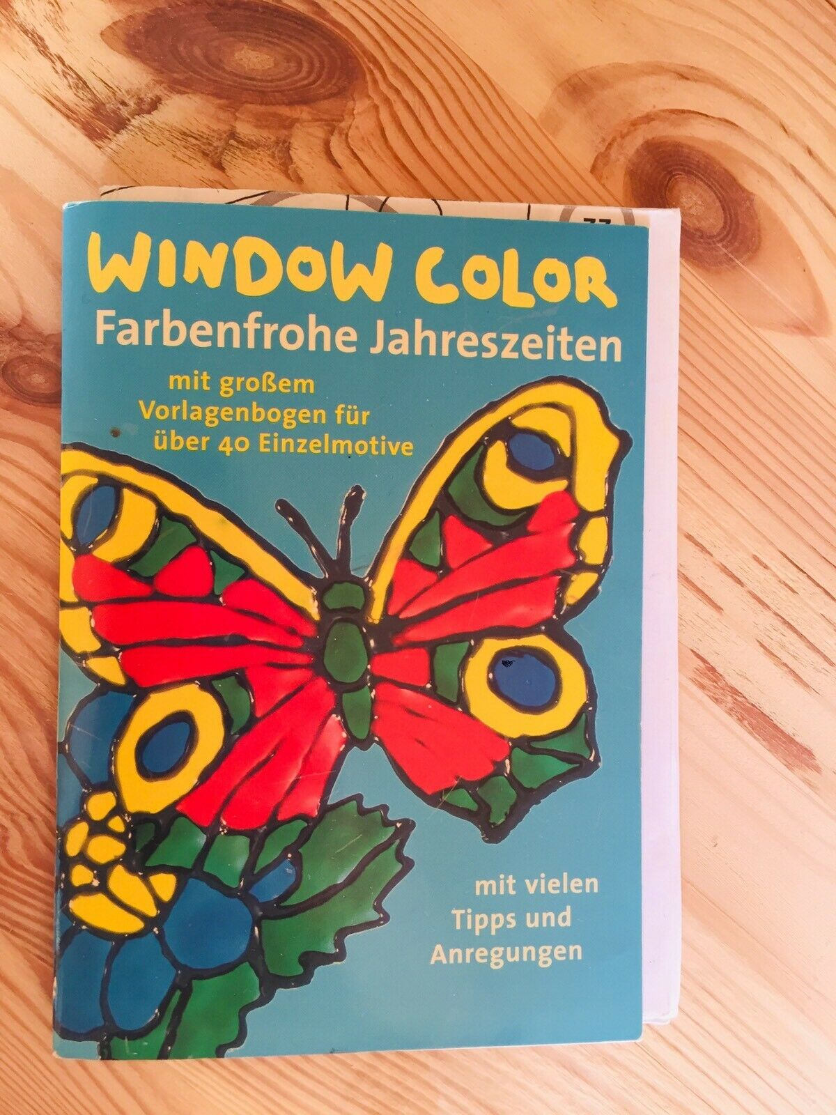 window color buch 7erset  malvorlagen fenstermalfarbe in