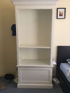 White French Provincial Style Bookcase with Cupboard Jerrabomberra Queanbeyan Area Preview