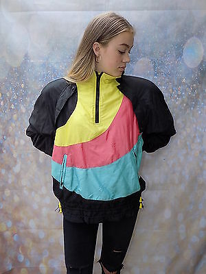 vintage multi coloured Benna Brok shellsuit jacket coat by benna Brok Ski jacket