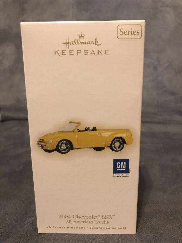 2009 Hallmark 2004 Chevrolet SSR All American Trucks Keepsake Ornament