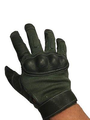 HWI GEAR - HKTG400A-Medium, Hard Knuckle Tactical Glove, Sage