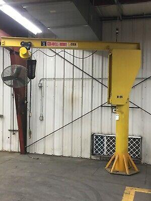 Caldwell A360-1//2-10//12 10 Height 1//2 Ton 12 Span Floor Mounted Jib Crane