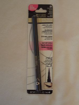 Milani Eye Tech Extreme Liquid Eye Liner   01 Blackest Black  Carded 0 033 Fl Oz