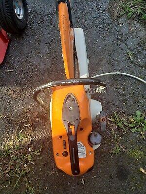 Stihl Cut Off Saw Ts420 Running Saw