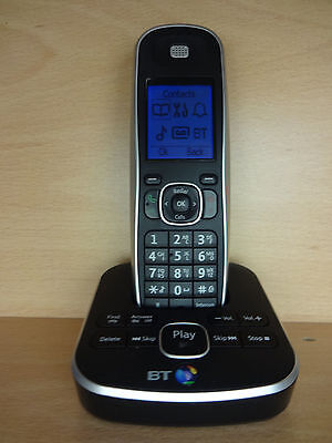 BT 5510 Single Digital Cordless House Phone Home Telephone with Answer Phone -UB
