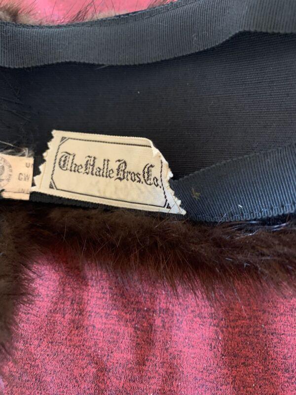 The Halle Bros Co Head Piece ?? Hat? Accessories