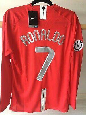 Nike Cristiano Ronaldo Manchester United Final Champions 2008 talla M Nueva