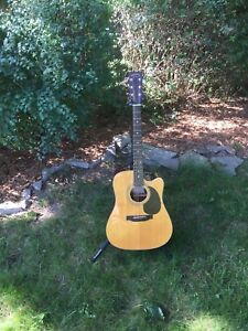 Vintage Sigma by Martin DR28ACE Acoustic/Electric Guitar
