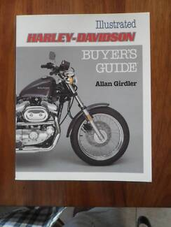 Illustrated Harley Davidson Buyers Guide.