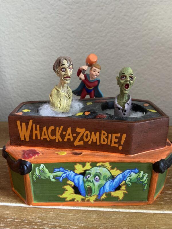 Dept 56 Halloween Village Whack-A-Zombie