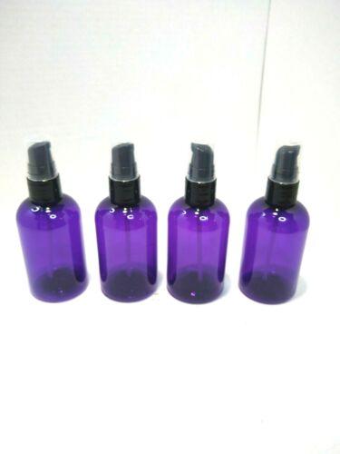 4 oz  purple spray bottle plastic