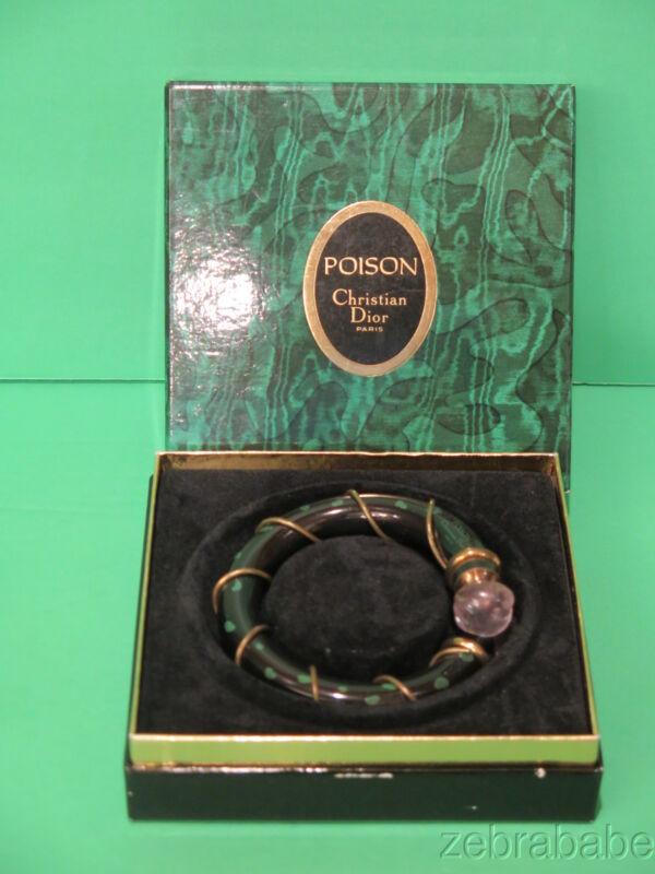 Christian Dior Poison Perfume Bracelet Presentation w Box