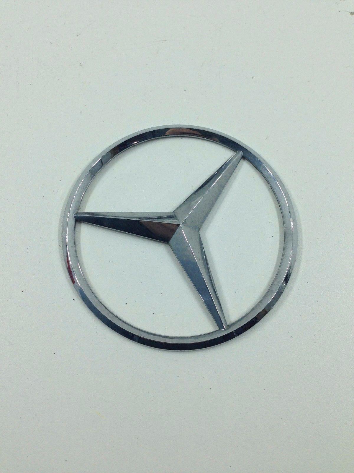 Used Mercedes Benz Decals Emblems License Frames For Sale
