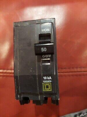 Square D Qo250 - 120240 V Standard Trip Plug On Circuit Breaker