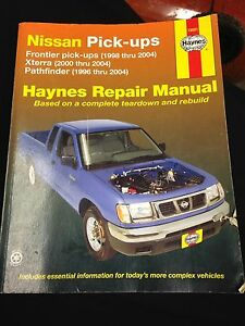 Haynes Manual for Pathfinder, Xterra, or Frontier for Free!