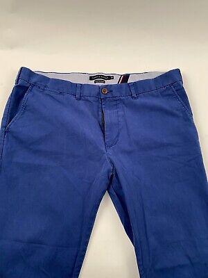 Tommy Hilfiger Blue Dress Chino Pants 40 X 32 Mens Trousers