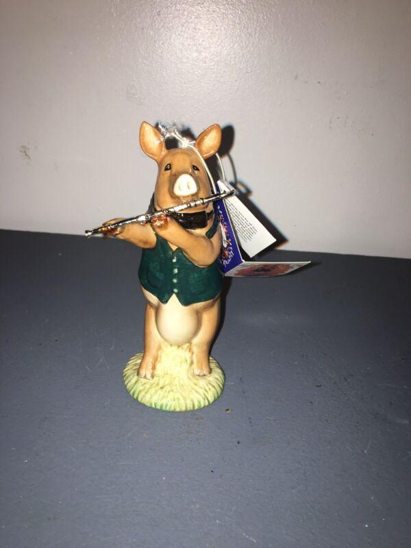 Beswick David the Flute Player Pig Vintage Beswick England