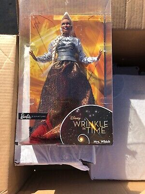 "BARBIE SIGNATURE ""MRS. WHICH"" DISNEY A WRINKLE IN TIME DOLL"