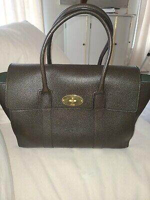 Mulberry Bayswater Calf Grain Leather Large