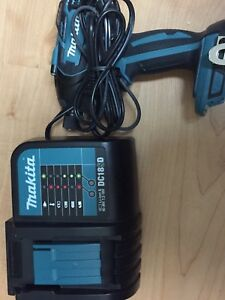 NEW Makita brushless impact/hammer drill & charger