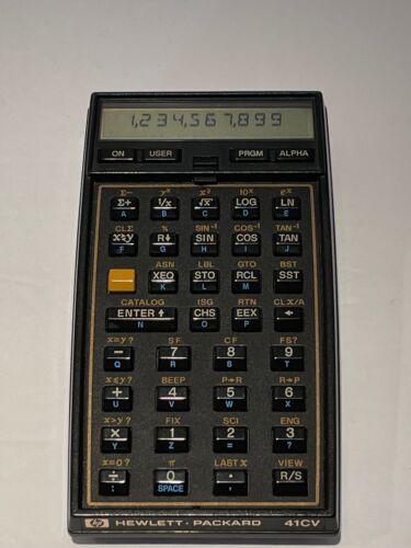 Hewlett Packard 41CV Calculator