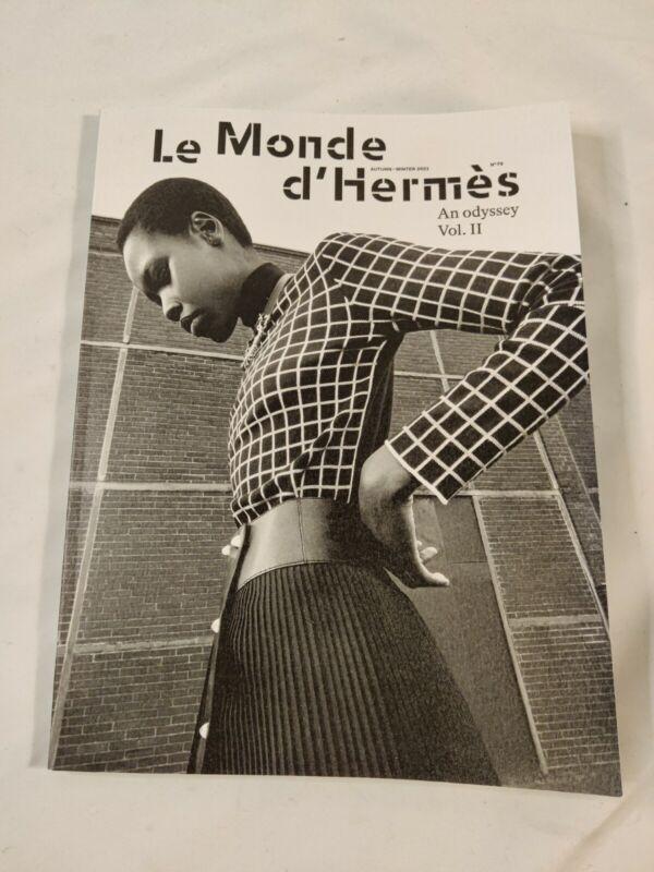 NEW 2021 Autumn-Winter HERMES Catalog  Le Monde d