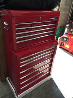 16 Drawers Mechanic Tool Box on Trolley Wantirna South Knox Area Preview
