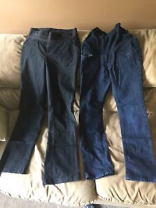 2 size small maternity jeans $25 for both